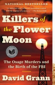 About the murders of the Osage Indians and beginning of the FBI